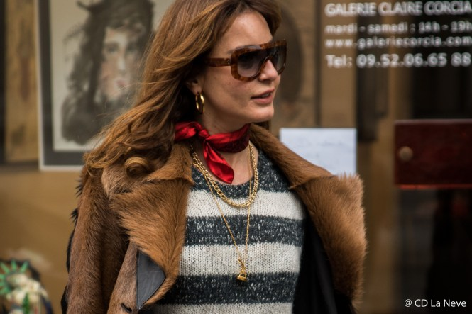 Paris Fashion Week Jean Paul Gaultier Haute Couture Street Style SS17