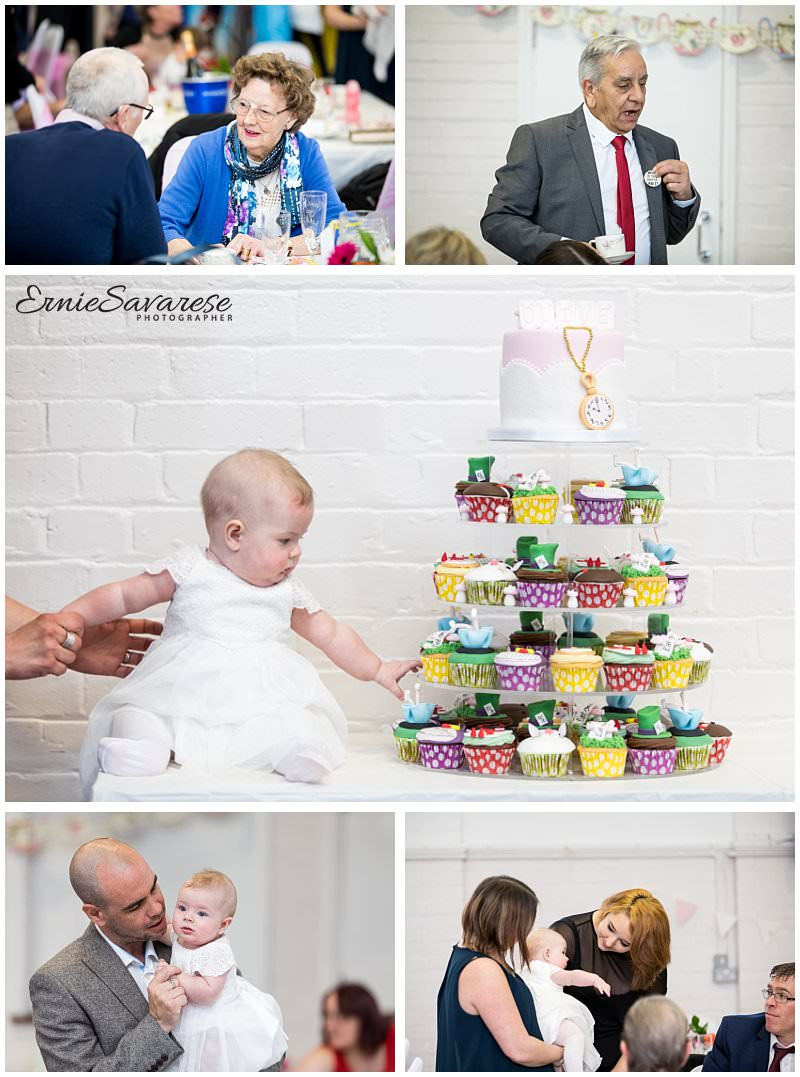 London Event Photographer Christening Baptism Party