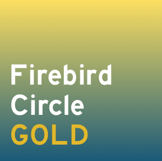Firebird Circle Gold