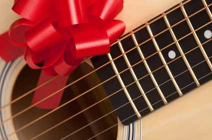 Guitar Lessons Christmas gift vouchers to buy