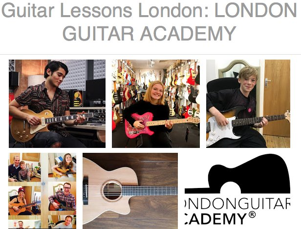 Guitar Lessons Brent North West London