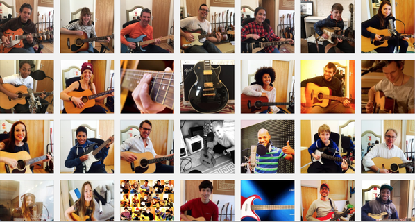 guitar lessons South East London