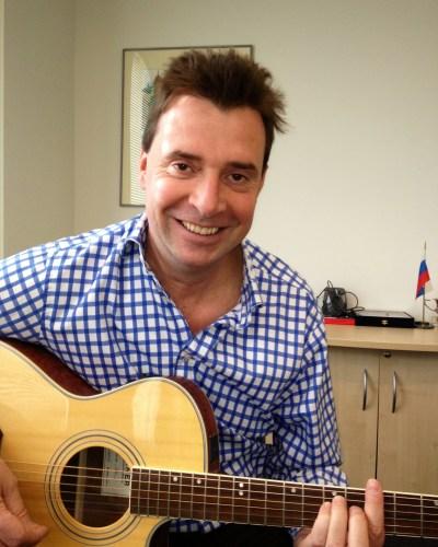 James Gundy Guitar lesson @ London Guitar lessons