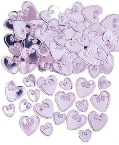 Loving Hearts Cotton Candy Table Confetti