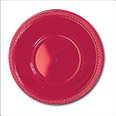Red plastic Bowls: 355ml (Pack of 8)
