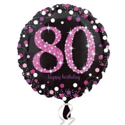 Age 80 Foil Balloons
