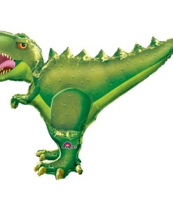 T-Rex Supershape Helium Filled Foil Balloon
