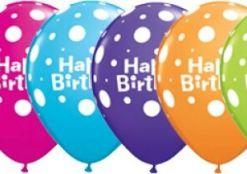 Birthday Latex Balloons