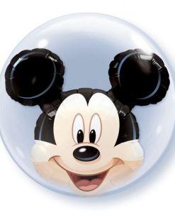 """Disney Mickey Mouse 24"""" Double Bubble Balloon"""