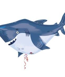 Ocean Buddies Shark Supershape Helium Filled Foil Balloon