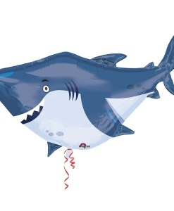 Ocean Buddies Shark Supershape Helium Filled Foil Balloon