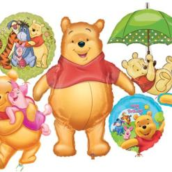 Winnie the Pooh helium balloons