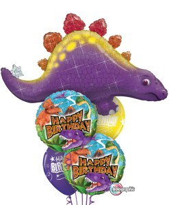Birthday Dinosaur Bouquets at London Helium Balloons
