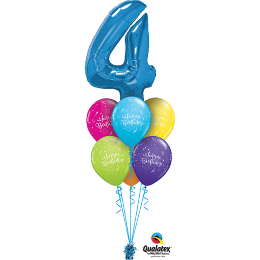 Letter Shaped Bouquet At London Helium Balloons