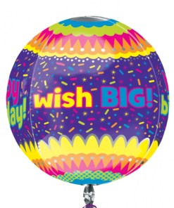 Happy Birthday Confetti at London Helium Balloons