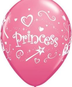 """10 Princess Helium Filled 11""""latex Party Party Balloons"""