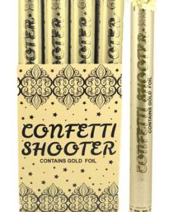 50cm Gold Confetti Shooter