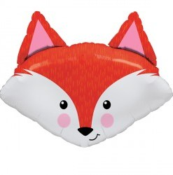 Fabulous Fox helium filled foil balloon