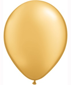 10 Treated Metallic Gold
