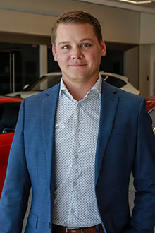 Matt Cartwright - Pre-Owned Sales Manager