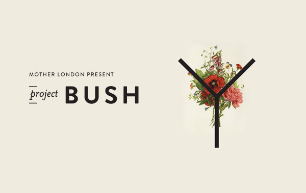 Project Bush; looking at my body in a new light
