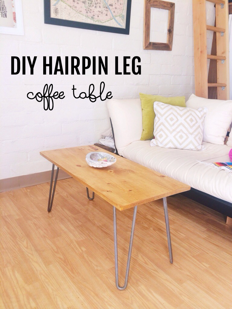 Diy Hairpin Leg Coffee Table London Like The City