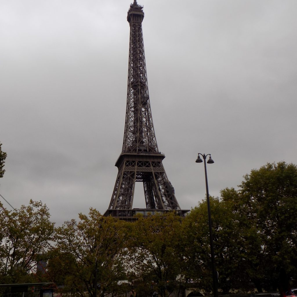 Paris Eiffel Tower sparing a thought