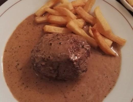 Bistro Paul Bert steak frites