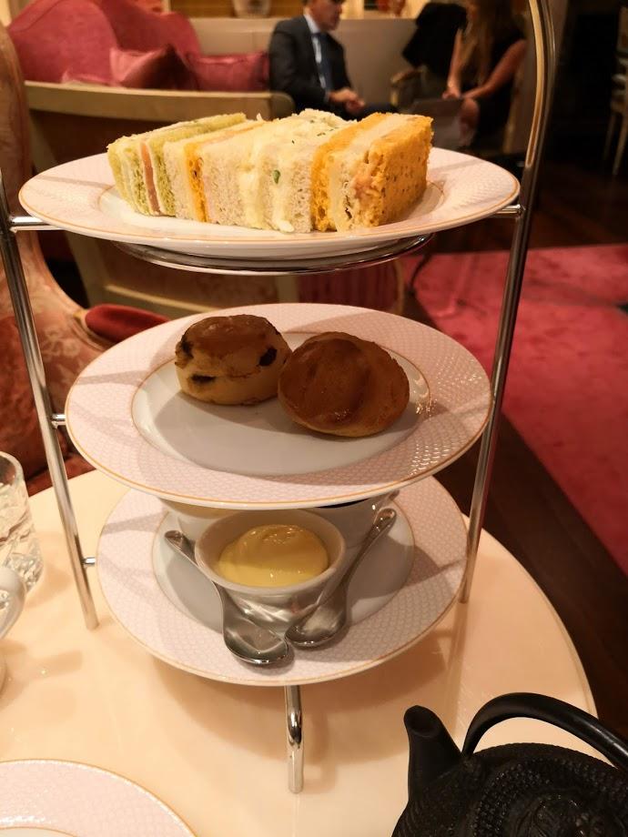 afternoon tea at the Sofitel London
