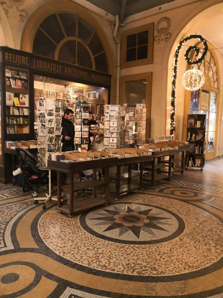 Galerie Vivienne, Paries stories