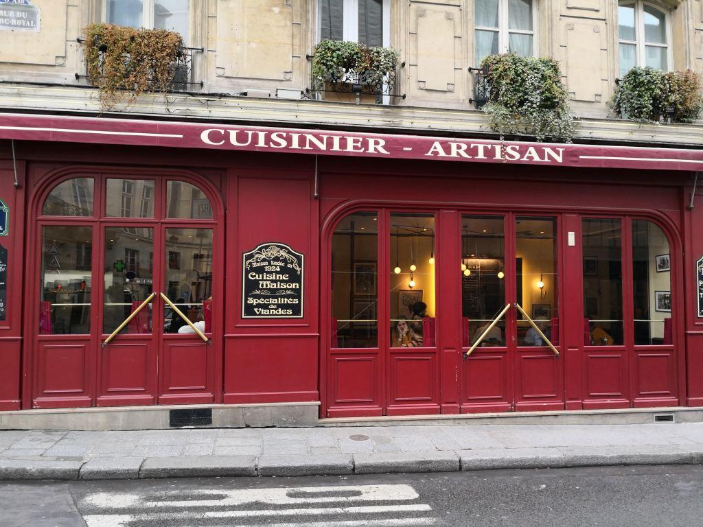 Cafe des Musees Marais, Paris stories