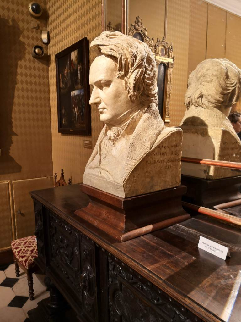 Paris stories January 2019 Victor Hugo museum