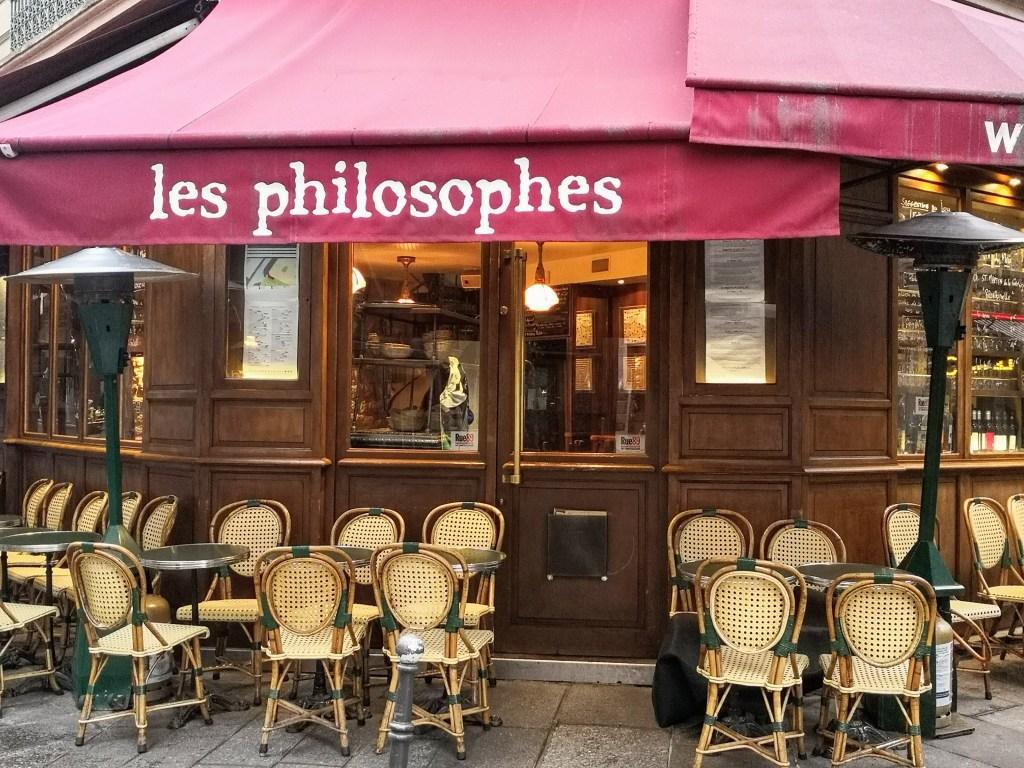 Les Philosophes restaurant