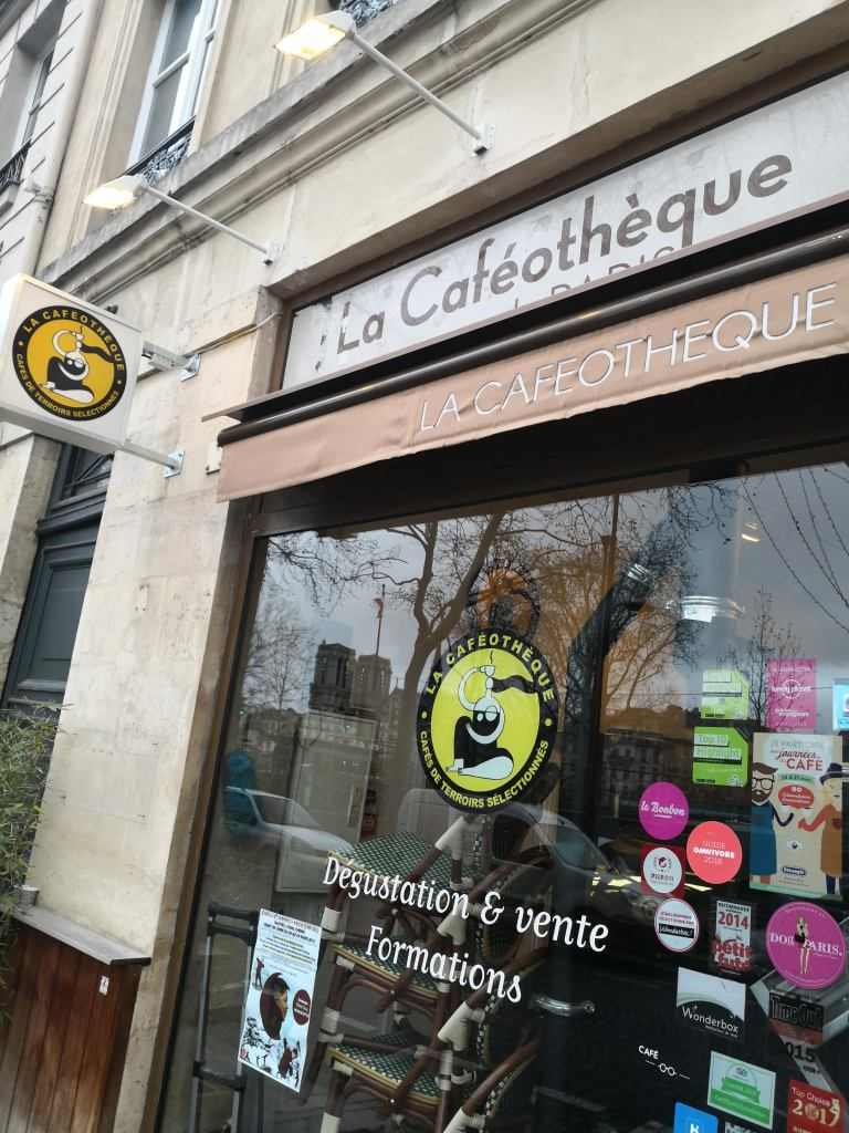 Paris stories, la Cafeotheque