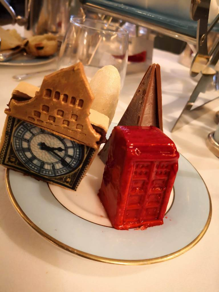 London Landmarks afternoon tea