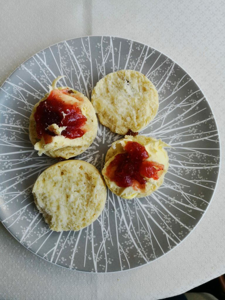 Royal Afternoon Tea scones