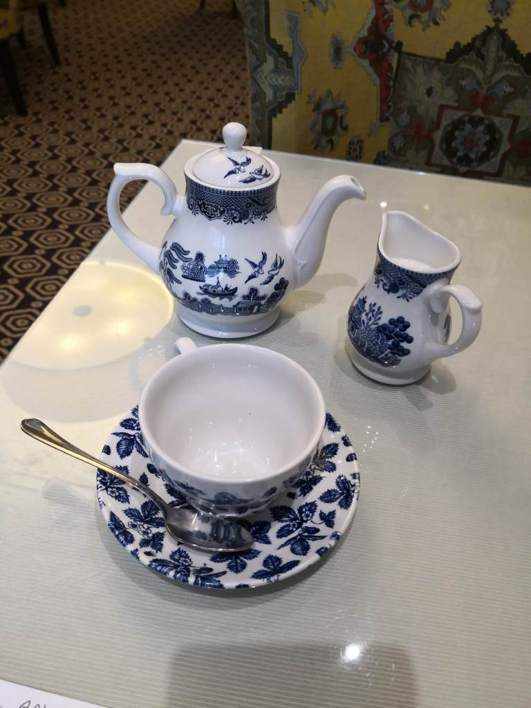 Garden afternoon tea tea set
