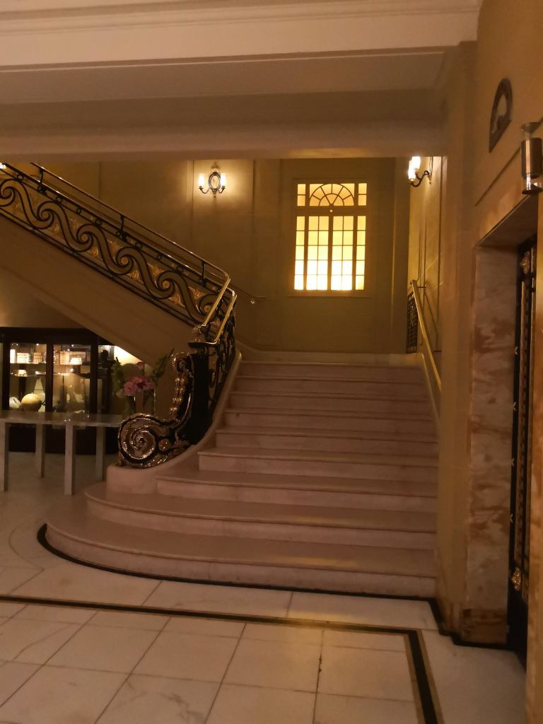 Cafe Royal stairs