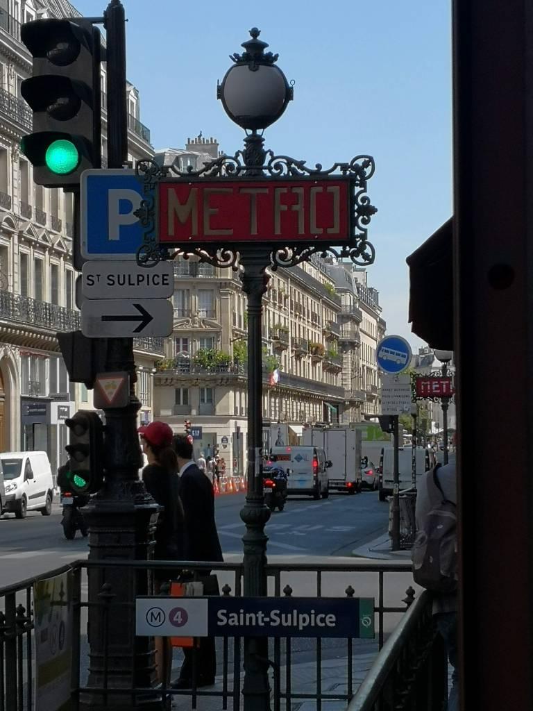 Paris stories day two Paris Metro