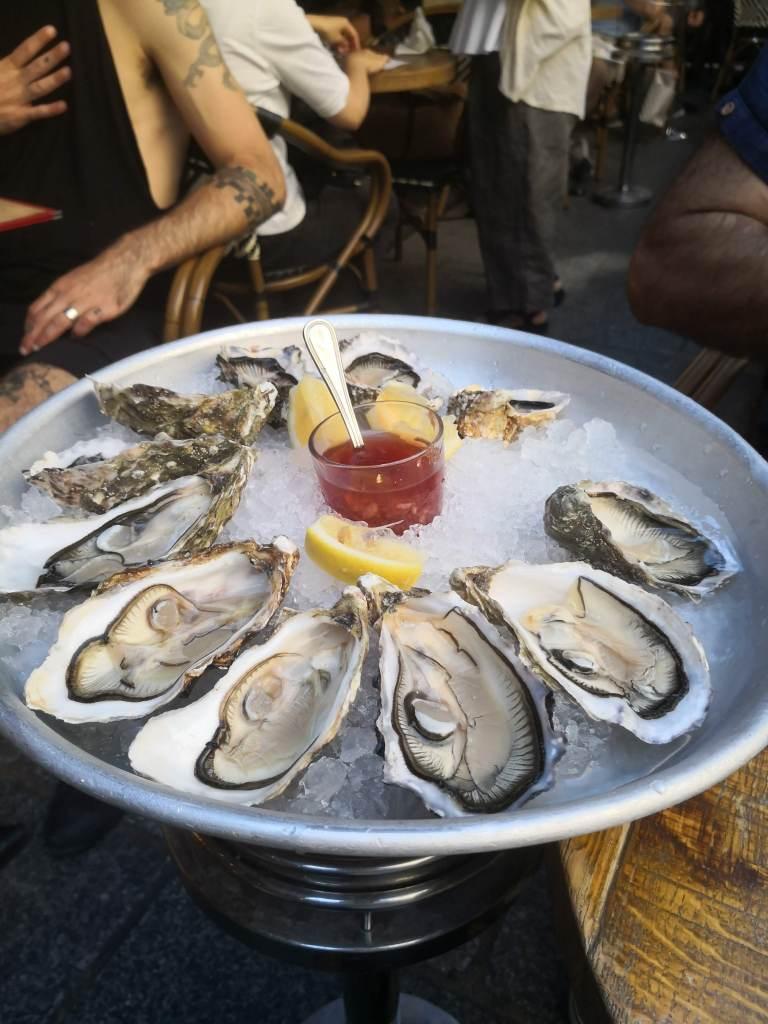 Oysters at rue du Tresor
