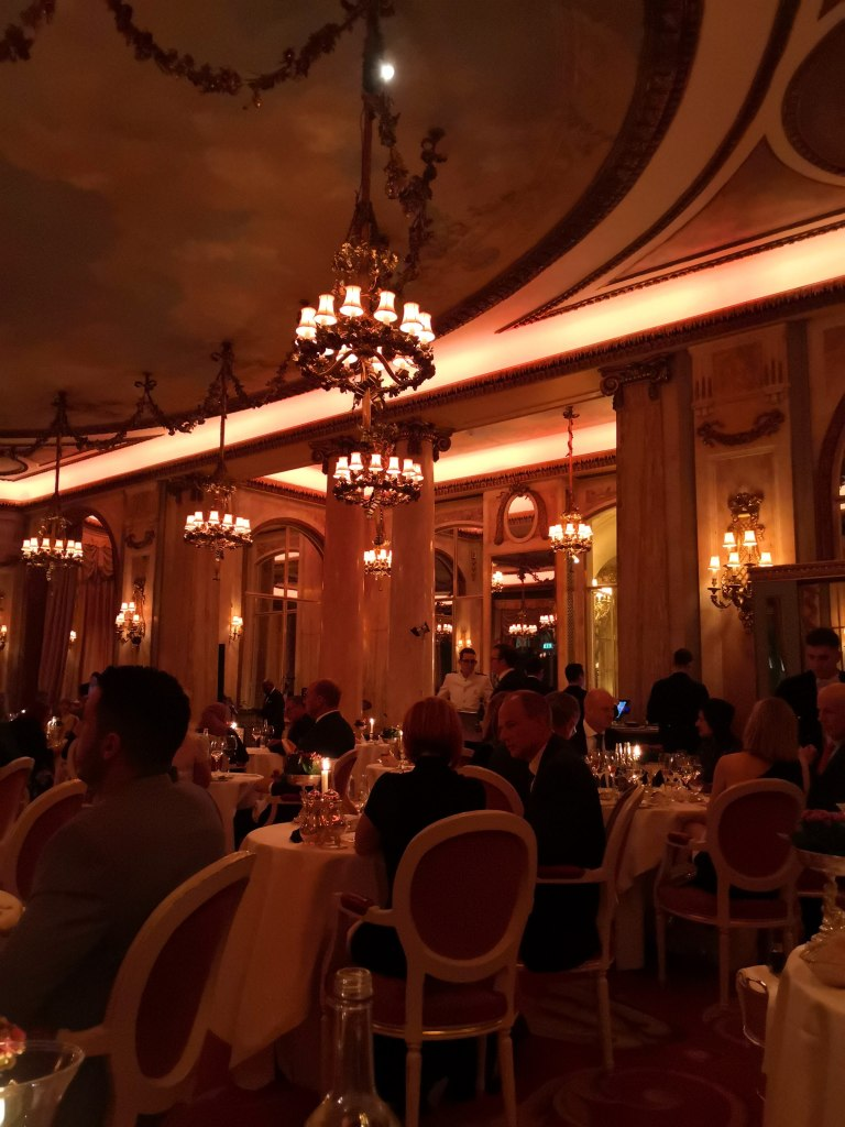 Live at the Ritz the dining room