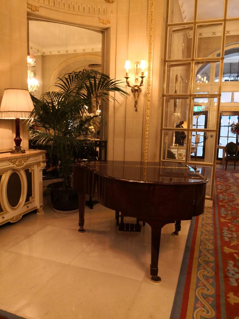 Live at The Ritz the grand piano