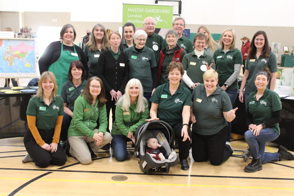 master gardener team photo from Seedy Saturday March 2020