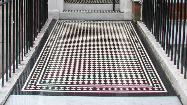 period tiling london mosaic