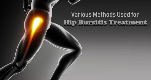 Various Methods Used for Hip Bursitis Treatment