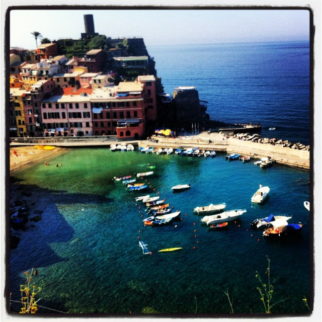 Vernazza, what a sight!
