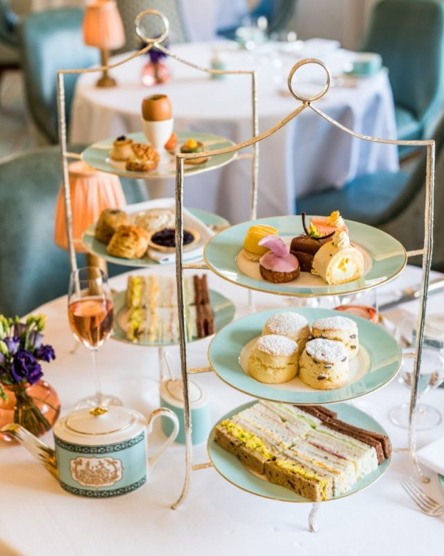 Afternoon tea in London at Fortnum & Mason