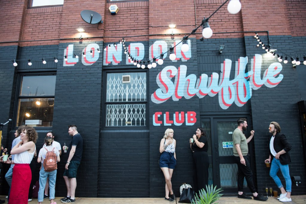 london new girl meet-up shuffle club