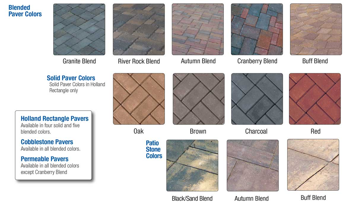 londonproducts paver colors welcome