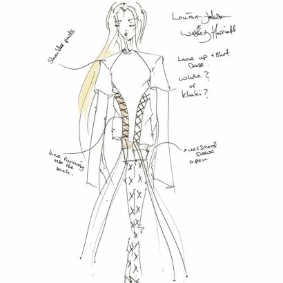 The-original-sketch-for-Louisa-Johnsons-bespoke-lace-T-Shirt-dress-worn-Monday-at-The-Roundhouse-on-stage-with-cleanbandit.jpg?fit=960%2C960